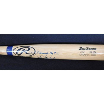 Mets Ron Swoboda, Cleon Jones Tommie Agee Signed Rawlings Bat JSA Authenticated