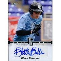 Blake Billinger Signed 2013 Leaf Perfect Game Baseball Card #A-BB1