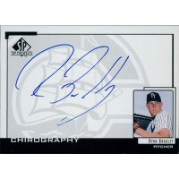 Ryan Bradley Signed 2000 SP Top Prospects Chirography Card #RB