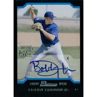 Bobby Brownlie Chicago Cubs Signed 2004 Bowman First Year Card #167