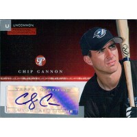 Chip Cannon Signed 2005 Topps Pristine Personal Endorsements Card #PEU-CC /247