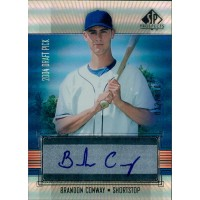 Brandon Conway Montreal Expos Signed 2004 Upper Deck SP Prospects Card #BC