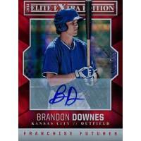 Brandon Downes Signed 2014 Panini Elite Extra Edition Baseball Card /799 #9
