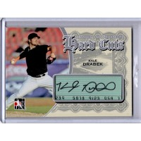 Kyle Drabek Signed 2011 In The Game ITG Heroes & Prospects Hard Cuts Card #HC-KD