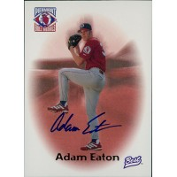 Adam Eaton Signed 1996 Best Baseball Card