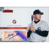 Josh Fields Signed 2005 Topps Pristine Personal Endorsements Card #PEC-JF /497