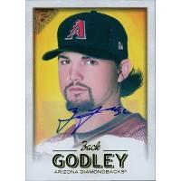 Back Godley Diamondbacks Signed 2017 Topps Gallery Baseball Card #104