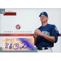 Bobby Livingston Signed 2005 Topps Pristine Personal Endorsements Card #PEC-BL /497
