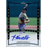 Andrew Noviello Signed 2014 Leaf Perfect Game Baseball Card #A-AN1