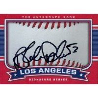 Blake Parker Signed Los Angeles Angels 2.5x3.5 Card JSA Authenticated