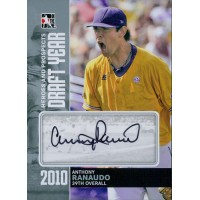 Anthony Ranaudo Signed 2011 ITG Heroes and Prospects Draft Year Silver Edition Card #DY-AR