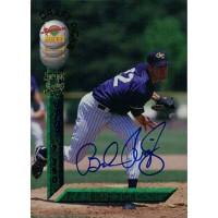 Brad Rigby Signed 1994 Signature Rookies Baseball Card #34 /7750