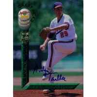 Andy Taulbee Signed 1994 Signature Rookies Baseball Card #51 /7750