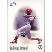 Andrew Vessel Signed 1997 Best Baseball Card