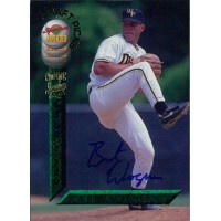 Bret Wagner Signed 1994 Signature Rookies Baseball Card #19 /7750