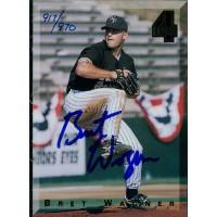 Bret Wagner Signed 1994 Classic Games 4 Sport Baseball Card /970