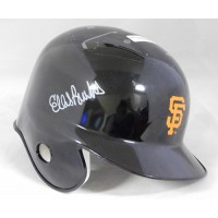 Ellis Burks San Francisco Giants Signed Mini Helmet JSA Authenticated
