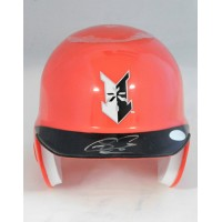 Sean Casey Indianapolis Indians Signed Mini Helmet Just Minors Authenticated