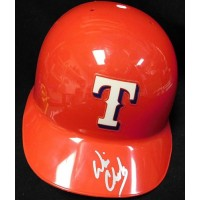 Will Clark Texas Rangers Signed Full Size Batting Helmet JSA Authenticated