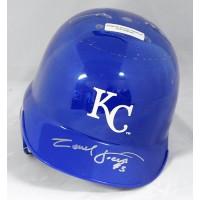 Carlos Febles Kansas City Royals Signed Mini Helmet JSA Authenticated
