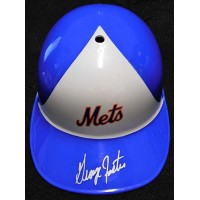 George Foster New York Mets Signed Full Size Replica Helmet JSA Authenticated