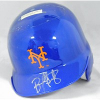 Bernard Gilkey New York Mets Signed Mini Helmet JSA Authenticated