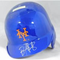 Bernard Gilkey New York Mets Signed Mini Helmet JSA Authenticated