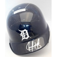 Juan Gonzalez Detroit Tigers Signed Mini Helmet JSA Authenticated