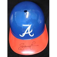 Andruw Jones Atlanta Braves Signed Full Size Replica Helmet JSA Authenticated