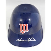 Harmon Killebrew Minnesota Twins Signed Souvenir Mini Helmet JSA Authenticated