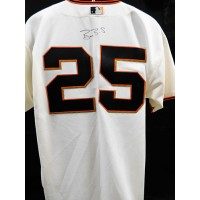 Barry Bonds San Francisco Giants Signed Authentic Jersey JSA Authenticated