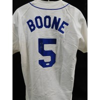 Bret Boone Seattle Mariners Signed Authentic Jersey JSA Authenticated