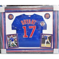 Kris Bryant Chicago Cubs Signed Framed Jersey MLB Fanatics Authenticated