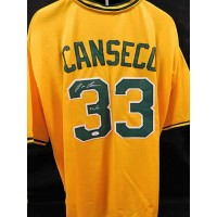 Jose Canseco Oakland Athletics Signed Custom Jersey JSA Authenticated
