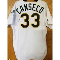 Jose Canseco Signed Oakland Athletics (A's) Authentic Jersey JSA Authenticated