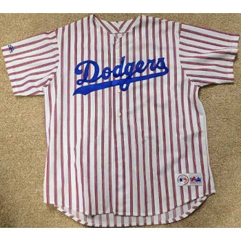 Los Angeles Dodgers Legends Signed Jersey JSA Authenticated LOA 18 Signatures