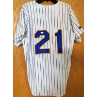 Cal Eldred Signed Milwaukee Brewers Authentic Jersey JSA Authenticated