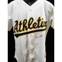 Rollie Fingers Oakland Athletics Signed Authentic Jersey JSA Authenticated
