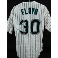 Cliff Floyd Florida Marlins Signed Custom Jersey JSA Authenticated