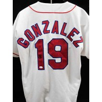 Juan Gonzalez Texas Rangers Signed Authentic Jersey JSA Authenticated