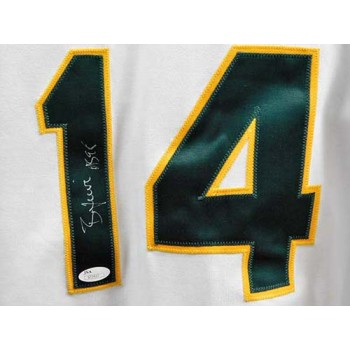 Ben Grieve Oakland Athletics Signed Authentic Jersey JSA Authenticated