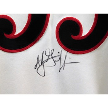 AJ Griffin Stockton Ports Signed MILB Authentic 48 Jersey JSA Authenticated