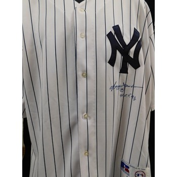 Reggie Jackson Signed New York Yankees Authentic Jersey JSA Authenticated