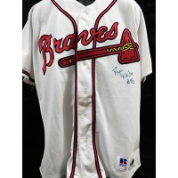 Ryan Klesko Atlanta Braves Signed Authentic Jersey JSA Authenticated