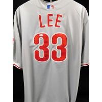 Cliff Lee Philadelphia Phillies Signed Custom Jersey JSA Authenticated