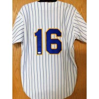 Pat Listach Signed Milwaukee Brewers Authentic Jersey JSA Authenticated