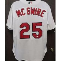 Mark McGwire Signed St. Louis Cardinals Size 48 Rawlings Jersey JSA #Z68288