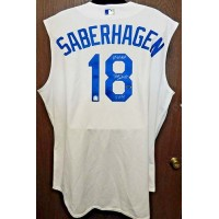 Brett Saberhagen Signed Kansas City Royals Authentic Jersey MLB/Tristar Authenticated