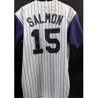 Tim Salmon Anaheim Angels Signed Replica Jersey JSA Authenticated