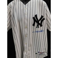 Gary Sheffield New York Yankees Signed Authentic Jersey JSA MLB Authenticated